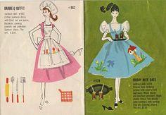 vintage Barbie booklet