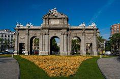 Foto Puerta de Alcalá de Madrid