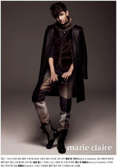 TVXQ - Marie Claire Magazine January Issue '11 --- Changmin