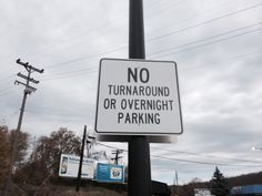 #Traffic signs help create order in the #parking lot.