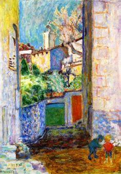 Dead End, Pierre Bonnard. #artists #bonnard