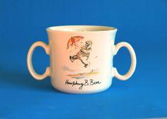 Humphrey B Bear Mug - Vintage 1983 Child's Bears Porcelain Mug - Baby Toddler Collectable - Made in Australia by FunkyKoala on Etsy