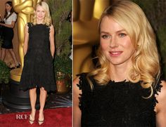 Naomi Watts In Valentino - 85th Academy Awards Nominations Luncheon