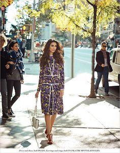 Keisha Lall in PRADA by Rohan Shrestha for L'Officiel India November 2014