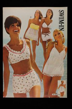 1969 Sears Spring Summer with Lucy Angle Kathy McKay and Cay Sanderson