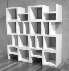 Best of Antique: Modern Style Of Shelves With Grey Accent, home plan
