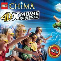 Chima 4Dx Movie at Legoland Discovery Atlanta
