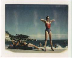 Monte Carlo, 1980's Helmut Newton Polaroids