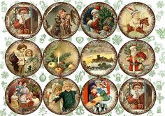 1 million+ Stunning Free Images to Use Anywhere Vintage Christmas Images, Victorian Christmas, Christmas Pictures, Christmas Candles, Christmas Tag, Christmas Projects, Etiquette Vintage, Christmas Barbie, Vintage Crafts