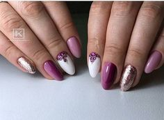 Almond nails are easy enough to use. You can buy fake nails in this shape from a beauty store, a drug store, or any super store such as Target or Walmart. Check the beauty section. Once you get them, they will have instructions on how to apply them. Then, try one of these ideas to decorate them. #almondnails #almondshapednails