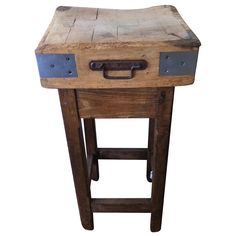 French Butcher's Block | From a unique collection of antique and modern butcher blocks at http://www.1stdibs.com/furniture/more-furniture-collectibles/butcher-blocks/