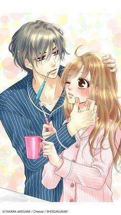 coffee and vanilla Manhwa Manga, Manga Anime, Anime Art, Coffee And Vanilla Manga, Shoujo, Aesthetic Art, Anime Love, Anime Couples, Webtoon