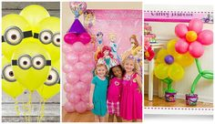 Los globos son, sin duda, la estrella de cualquier fiesta infantil. Veamos cómo decorar con ellos de forma creativa.