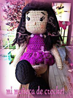 creaciones FOG: amigurumi Mi muñeca de crochet