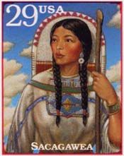 Sacagawea was a Shoshone Indian woman who became famous for the help and guidance she rendered to the Lewis and Clark Expedition to the Northwest in 1804-1806.