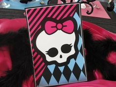 My girl is having a monster high birthday party...  This page has lots of great MH party ideas...