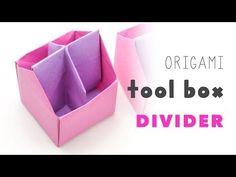 Origami Toolbox / Pen Pot Instructions - Paper Kawaii
