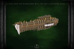 VFR Azer ôv-Âlôvaikôr, Will of the Lightning King Warhammer 40k Rpg, Battlefleet Gothic, Rogue Traders, Lego Ship, Amazing Lego Creations, Bfg, Throughout The World, Spacecraft, Rogues