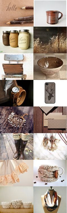Rustic Neutral by Shannon on Etsy--Pinned with TreasuryPin.com