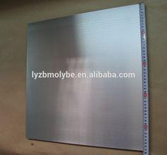 High-melting metal silver gray tungsten sheet
