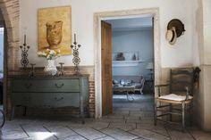 Dalani, Ingresso, Rinnovare in Stile Country Cassettiera Classica in Legno Scuro…