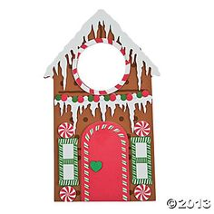 Gingerbread Doorknob Hanger Craft Kit - Oriental Trading