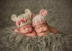 Bebe Charm Newborn Photography - Newborn Twin Photography