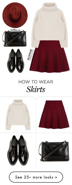 """Untitled #534"" by the92liner on Polyvore featuring Burberry, Carven, women's clothing, women's fashion, women, female, woman, misses and juniors"