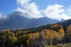 Peña Blanca (2555 metros), en la cara noroeste de la Sierra de Tendeñera