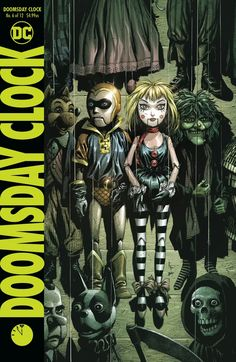 The critically acclaimed super star team of writer Geoff Johns and artist Gary Frank continue this groundbreaking event as the Mime and the Marionette take center stage in DOOMSDAY CLOCK Geoff Johns (A/CA) Gary FrankExpected Release Date: Character Drawing, Comic Character, Character Design, Batman, Superman, Comic Book Covers, Comic Books, Detective, Dc Comics