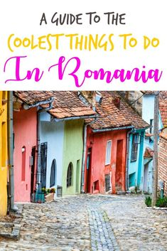 Every region in Romania is unique! Here are the best things to do in Romania. This list covers the areas across the entire Romanian countryside too! #ROMANIA #TRAVELROMANIA