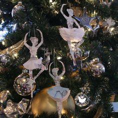 Paper Christmas Decorations - dancers