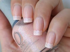Nails - Lace French Manicure