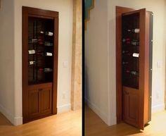 Hidden Doors, Secret Passageways, Custom Cabinetry And Furniture.   Dream  Home   Pinterest   Doors, Custom Cabinetry And Spaces