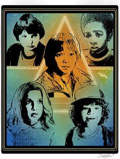 """The Flea and the Acrobat"" - artwork based on Netflix original show Stranger Things."
