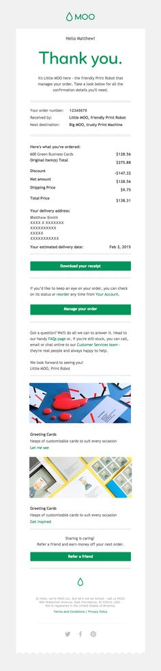 #Design library of Really Good #Emails by category for inspiration: