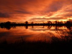 Sunrise in Fort Collins