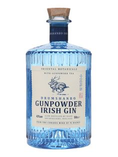 Drumshanbo Gunpowder Irish Gin - Half Litre : Buy from The Whisky Exchange Tequila, Vodka, Mezcal Cocktails, Alcohol Bottles, Liquor Bottles, Gin Liquor, Le Gin, Gin Brands, Craft Gin