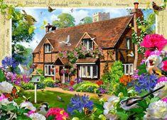 Peony Cottage (88 pieces)