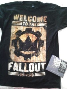 Crown The Empire shirt  The Fallout Deluxe Reissue