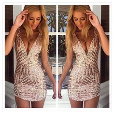 Cheap summer dress, Buy Quality mini dress directly from China sequin party dress Suppliers: Sexy club strap backless mini dress women V neck sequin party dresses vestidos 2017 skinny christmas short summer dress 2018 Dresses Uk, Club Dresses, Sexy Dresses, Party Dresses, Short Dresses, Fashion Dresses, Summer Dresses, Mini Dresses, Beach Dresses