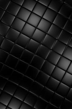 black, satin tiles