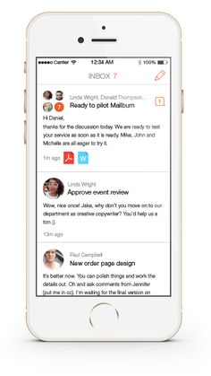 Neat iPhone email client with chat-like conversations and delivery/read reports. Accepting beta-users! @mailburnapp http://www.mailburn.com/ -- email, email productivity, email client, iphone email, productivity -- http://www.mailburn.com/
