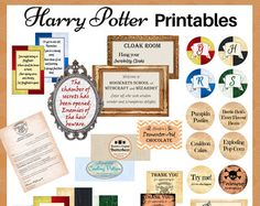 Fly to Hogwarts for a HARRY POTTER POTIONS CLASS full of bubbling cauldrons and explosive fun! Use these printables to run a wonderfully different and FUN PARTY or KIDS ACTIVITY session.  This digital download includes a Potions Masterclass Handbook, with easy-to-follow experiment instructions, along with fabulously funny labels to Potterise your supplies with.  Potion making experiment instructions included:  - Professor Sillius Snape's Severely Sloppy Slime - Explosive Gas with Inflative…