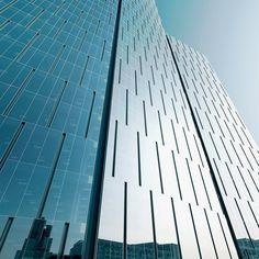 office tower warsaw' by schmidt hammer lassen architects, warsaw, poland | facade detail