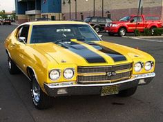 These Chevy Chevelles were usually super fast when powered by a 386 or 454 engine.#Repin By:Pinterest++ for iPad#