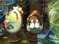 Páscoa - montra em Florença