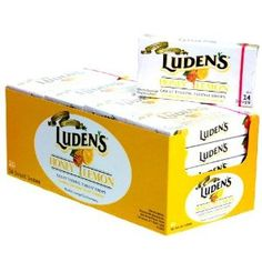 Luden's Honey Lemon 14's (Pack of 20)