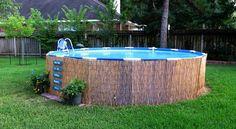 Cómo convertir el espacio de la piscina en un lugar relajante - http://www.bezzia.com/como-convertir-el-espacio-de-la-piscina-en-un-lugar-relajante/