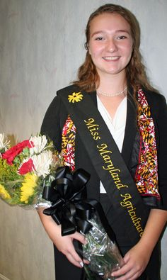 Calvert County's Jordan Michele Mister was named Miss Maryland Agriculture 2014 at the 2014 Maryland State Fair. She will participate in various events & activities representing Maryland agriculture.